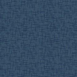 Make Yourself at Home Deep Navy Linen by Kimberbell Designs for Maywood Studio