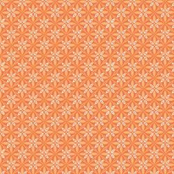 Make Yourself at Home Orange Tufted Star by Kimberbell Designs for Maywood Studio