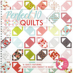 Perfect 10 Quilts Pattern Book by It's Sew Emma