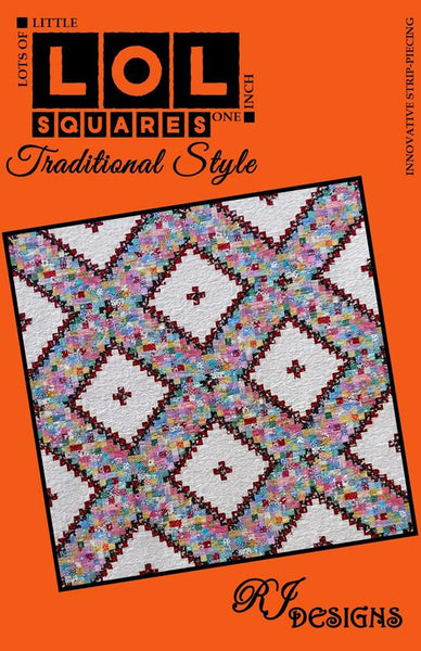 LOL Squares Traditional Style Quilt Pattern
