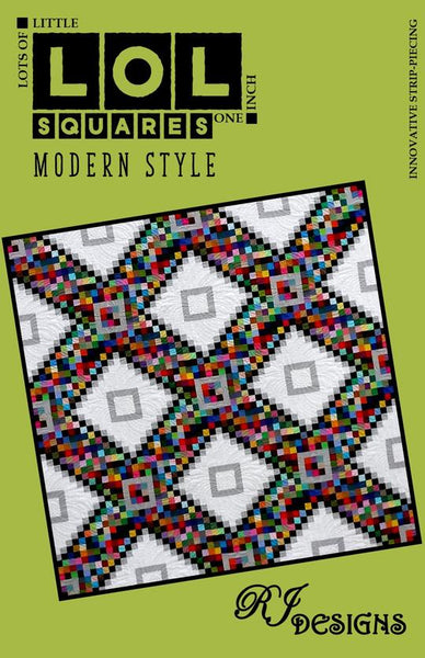 LOL Squares Modern Style Quilt Pattern