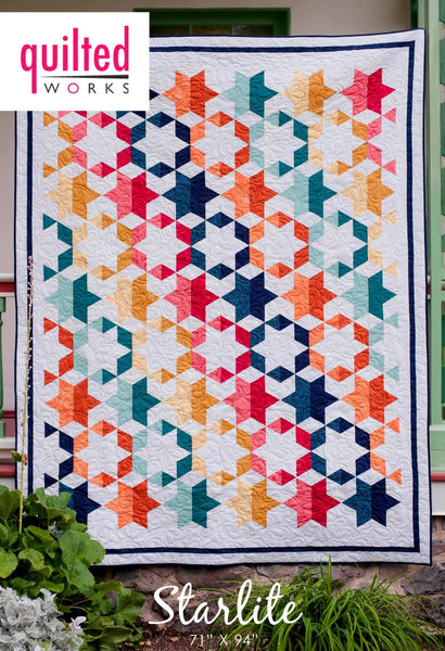 Starlite By Quilted Works Quilt Pattern