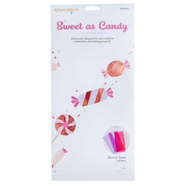Kimberbell Sweet as Candy Colored Vinyl: Pinks & Purples