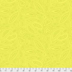 True Colors Citrine Mineral by Tula Pink for Free Spirit Fabrics