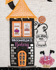 Kimberbell Twilight Boo-levard Bench Pillow Machine Embroidery CD
