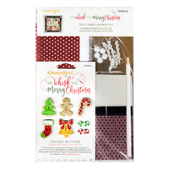 Kimberbell Designs We Whisk You a Merry Christmas Embellishment Kit