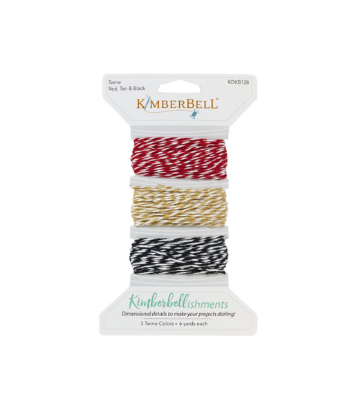 Kimberbell Twine Red, Tan & Black