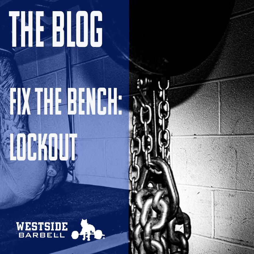 Fix the Bench: Lockout