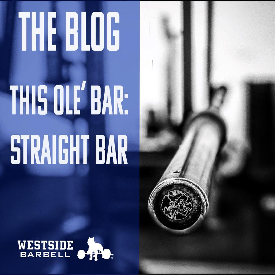 This Ole' Bar: Straight Bar