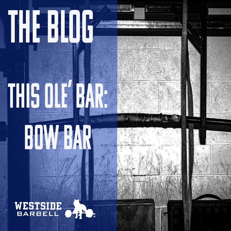 This Ole' Bar: Bow Bar