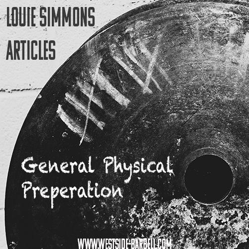 What is General Physical Preparation?