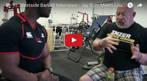 Westside Barbell Interviews - Jay Spry Meets Louie Simmons