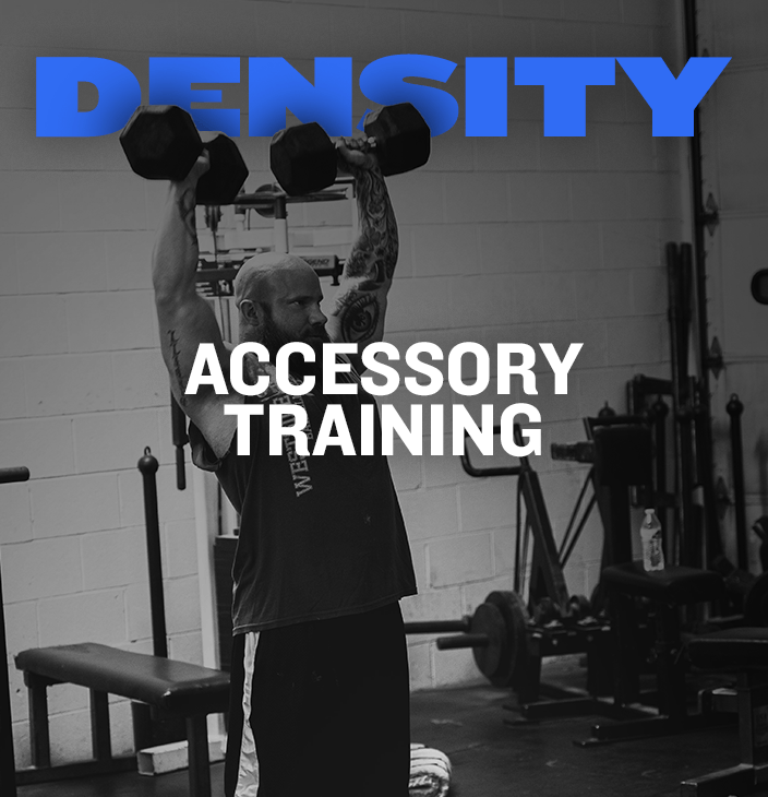 WSBB Blog: Accessory Training Density