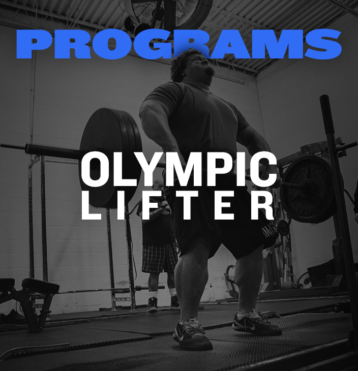 Programs for the Olympic Lifter