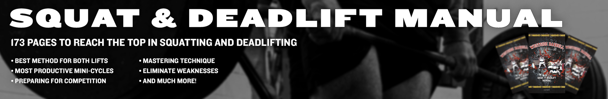 Squat and Deadlift Manual