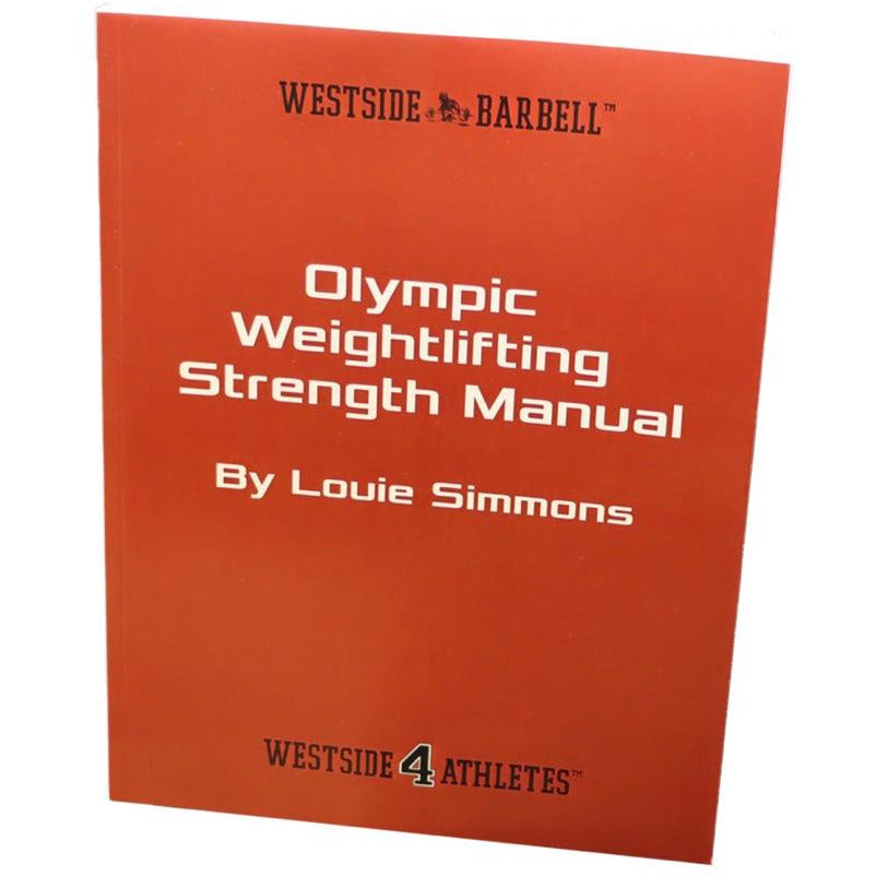 Olympic Weightlifting Strength Manual Paperback Book