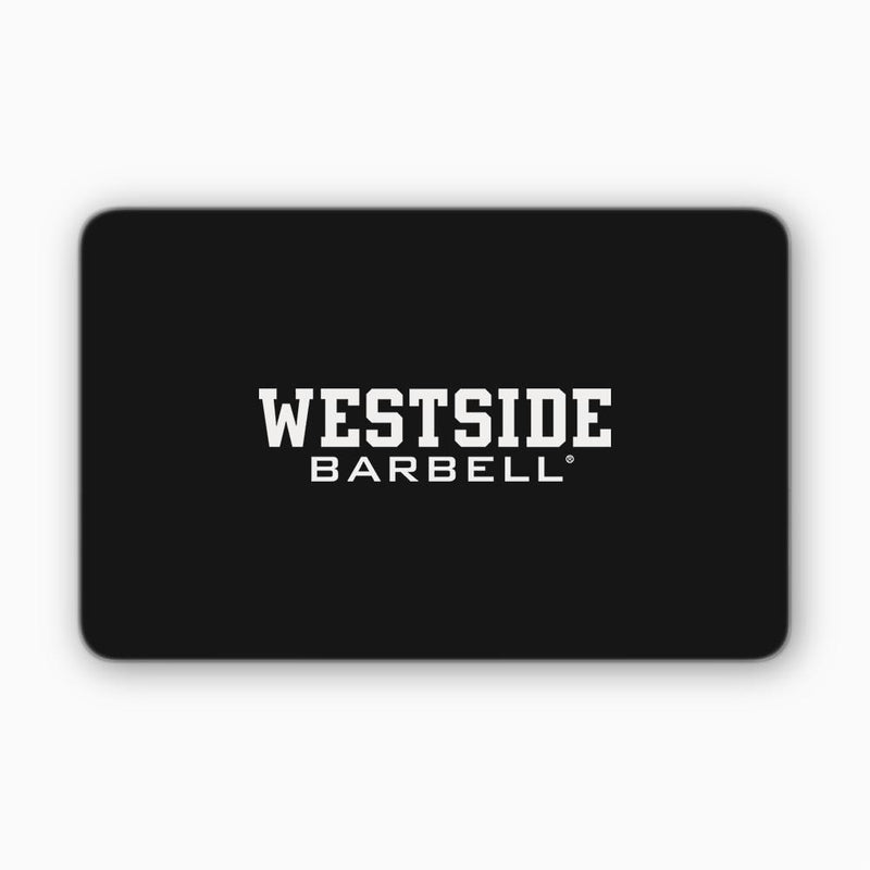 Westside Barbell Gift card