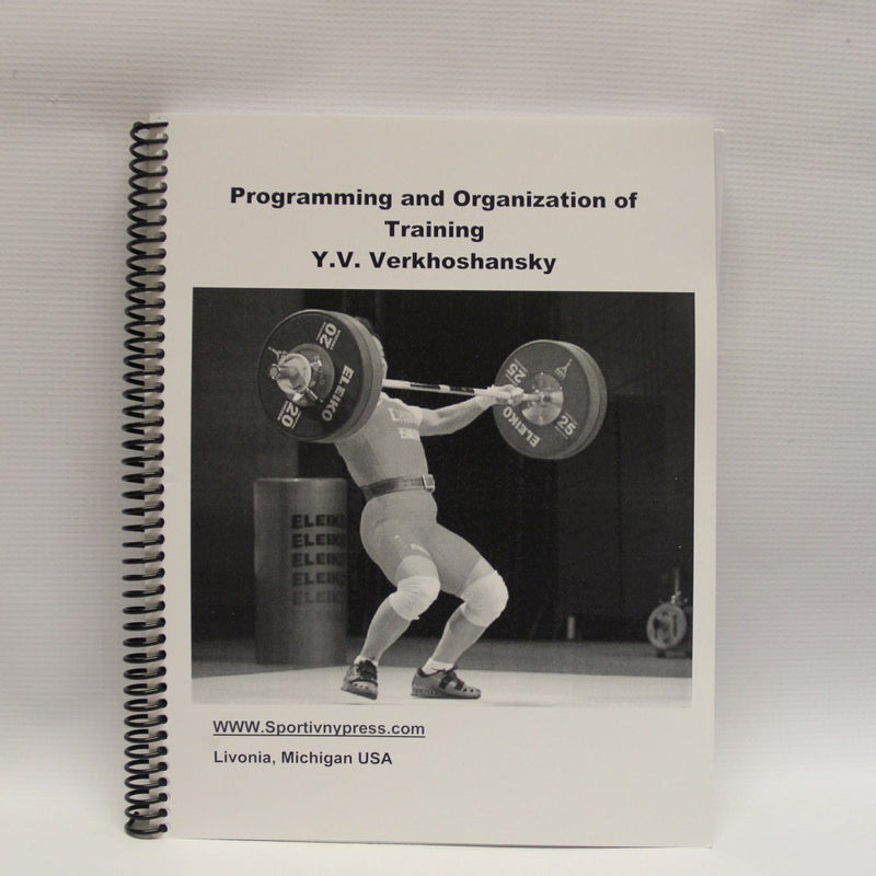 Programming and Organization of Training