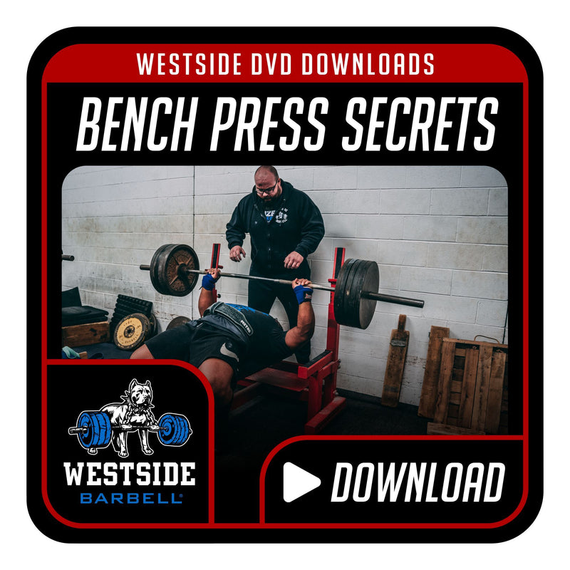 Bench Press Secrets DVD Download