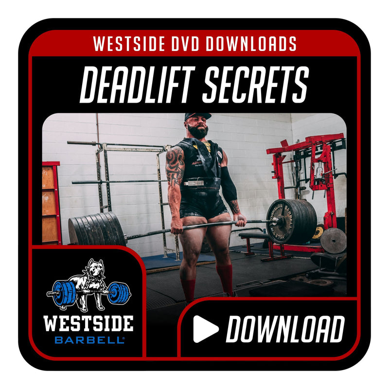 Deadlift Secrets DVD Download