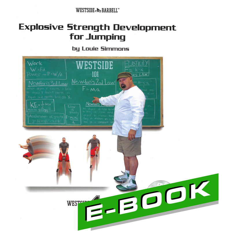 WSBB eBooks - Explosive Strength Development For Jumping