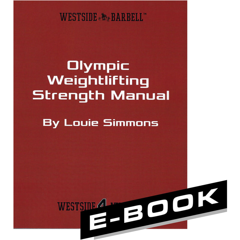 WSBB eBooks - Olympic Weightlifting Strength Manual