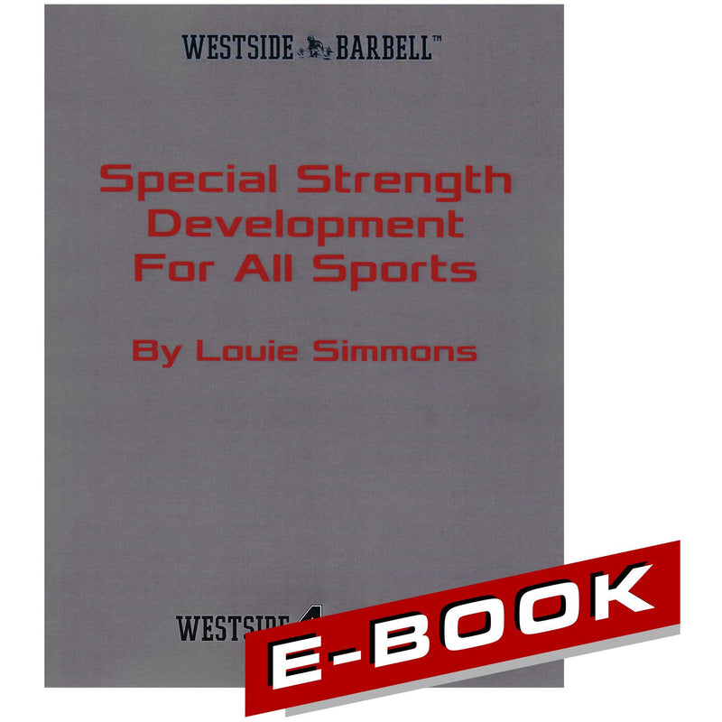 WSBB eBooks - Special Strength Development For All Sports