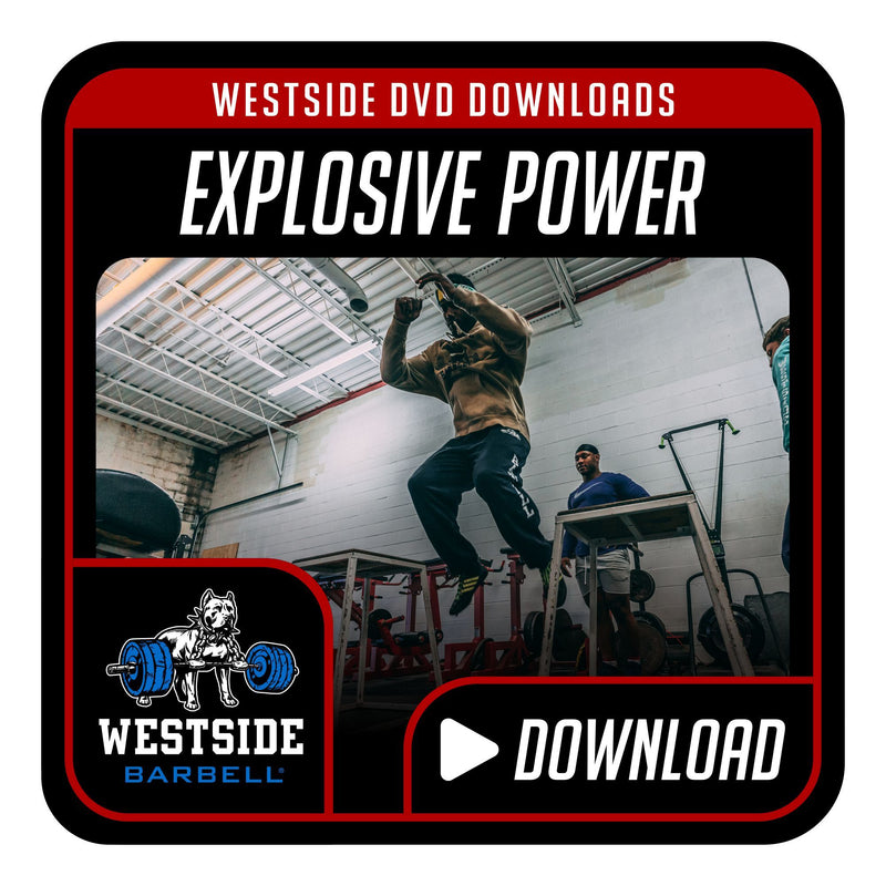 Explosive Power Training DVD Download