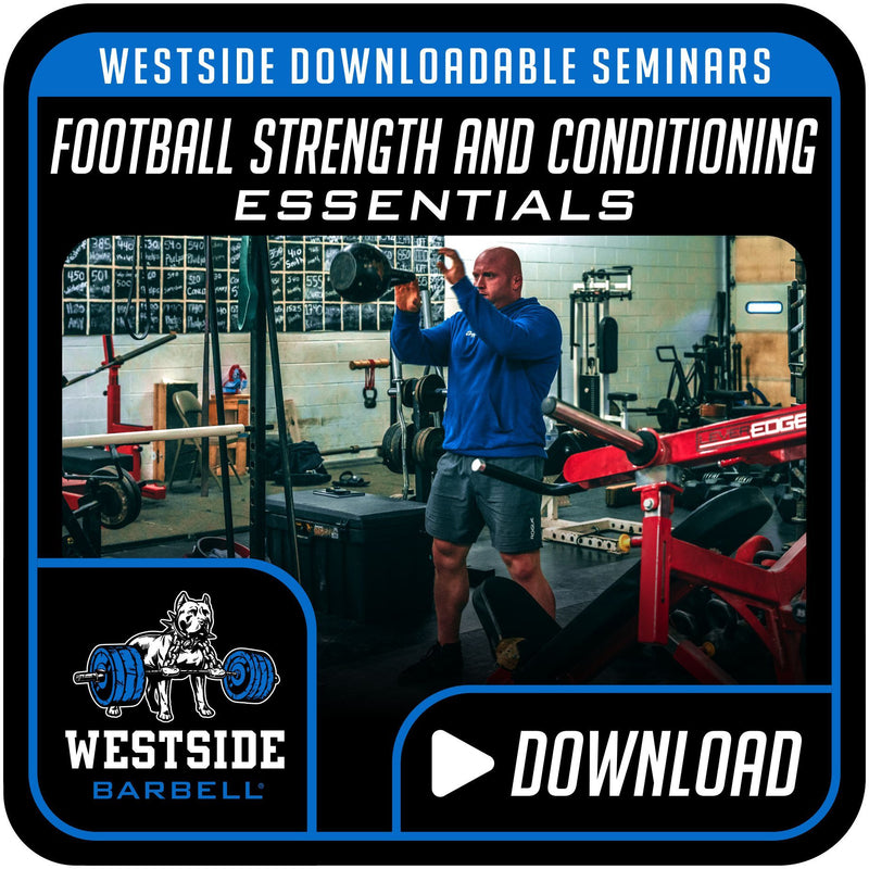 Westside Downloadable Seminars- Football Strength and Conditioning Essentials
