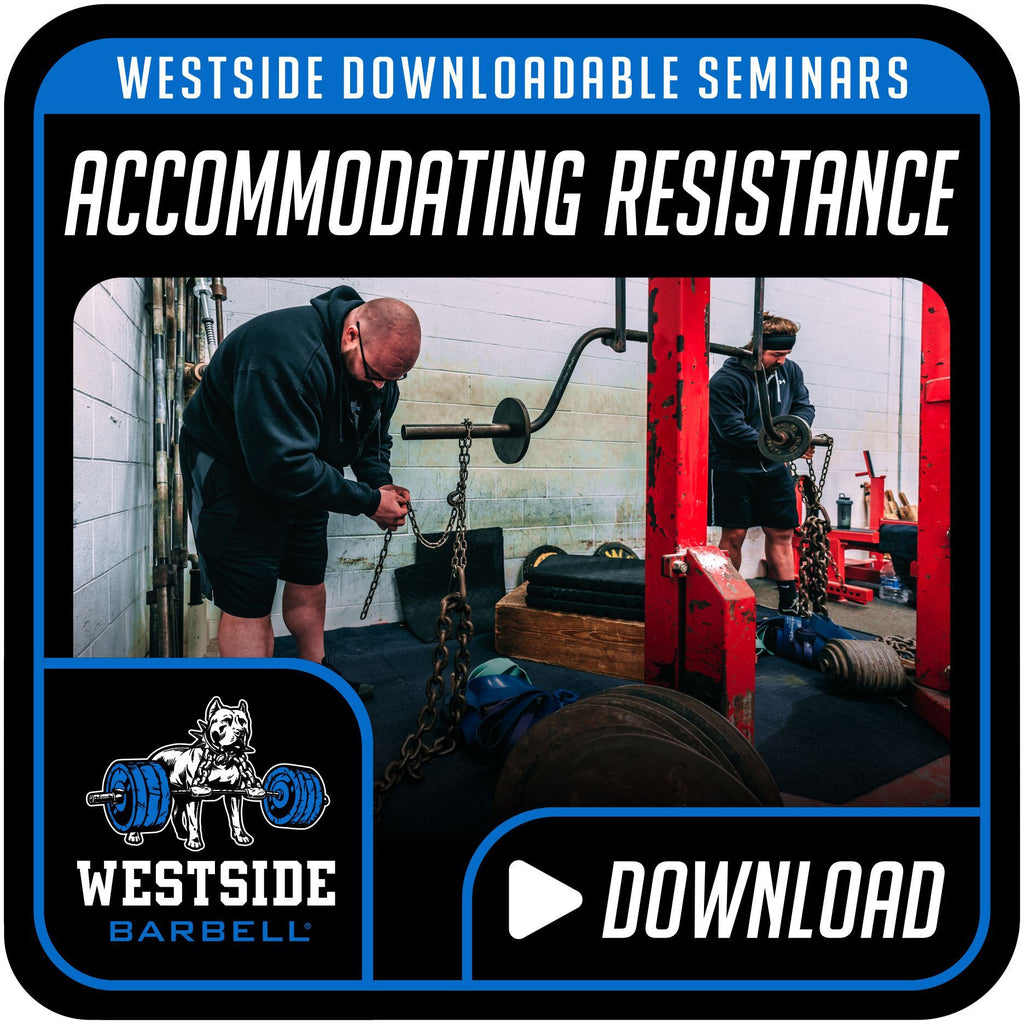 Westside Downloadable Seminars-Accommodating Resistance
