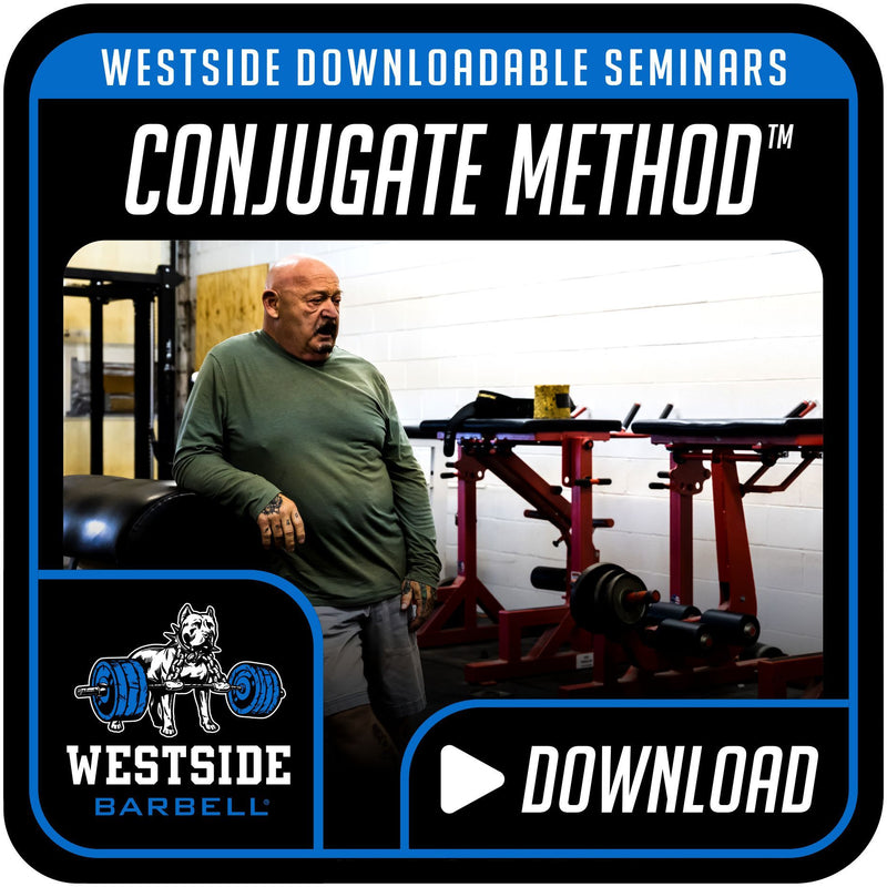 Westside Downloadable Seminars- Conjugate Method™