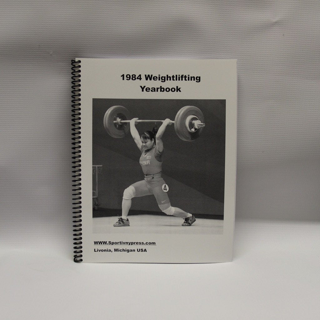 1984 Weightlifting Yearbook