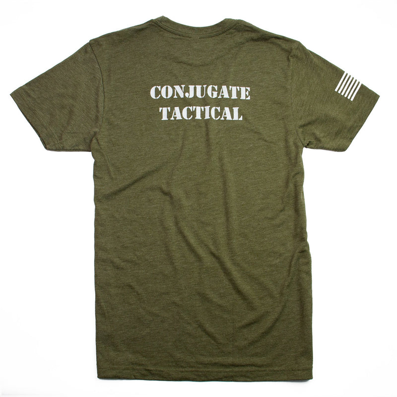 WSBB Mens Tactical Marine Green T-shirt