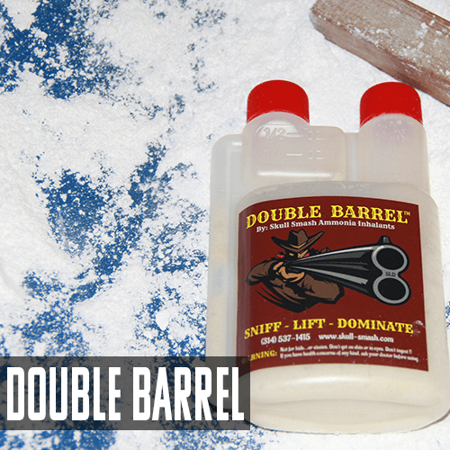 WSBB Smelling Salts -Skull Smash Double Barrel