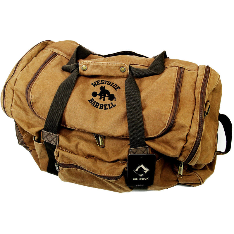 WSBB Concrete Canvas Duffle Bag