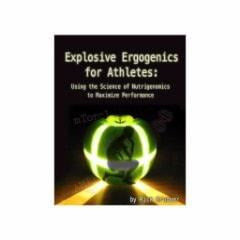 WSBB Books Explosive Ergogenic's for Athletes by Rick Bruner