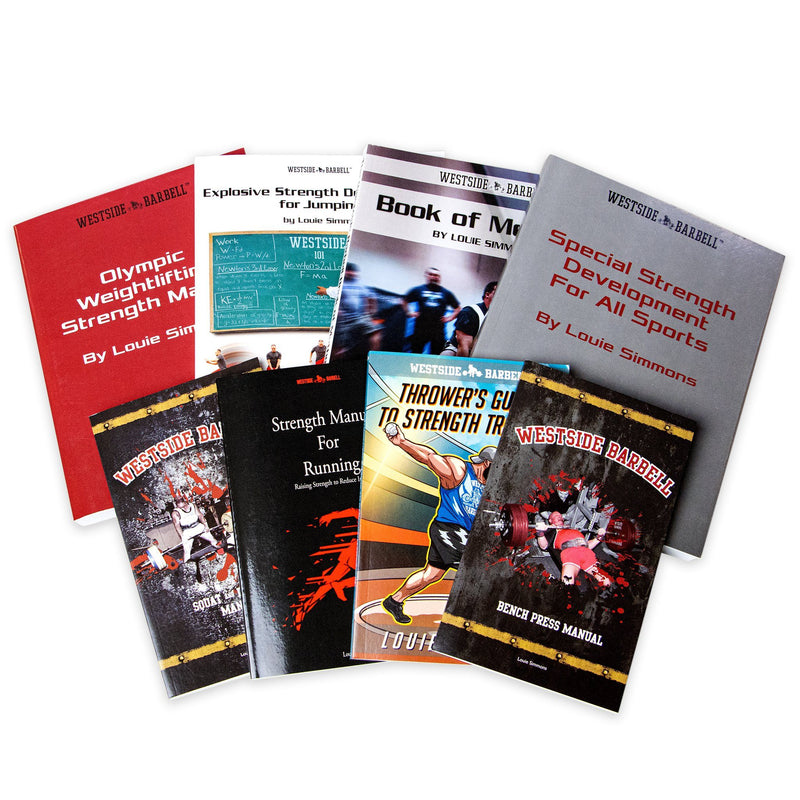 WSBB Bundles - The Louie Simmons Book Bundle