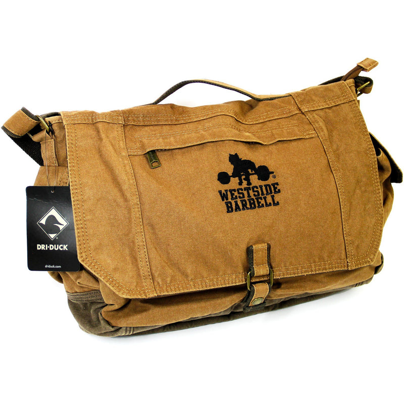WSSB Concrete Canvas Messenger Bag