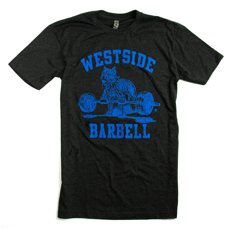 WSBB Mens Blue Nitro logo T-shirt