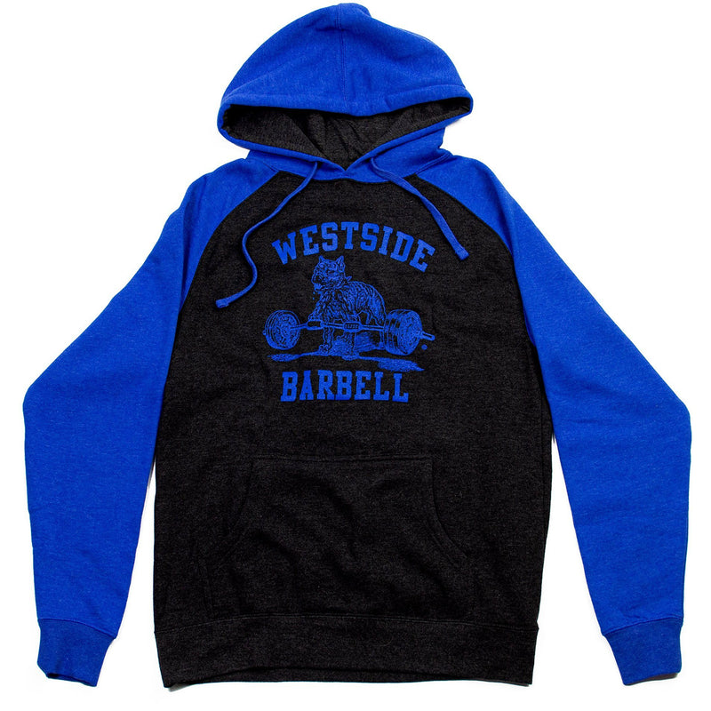 WSBB Mens Blue Air Hooded Sweatshirt