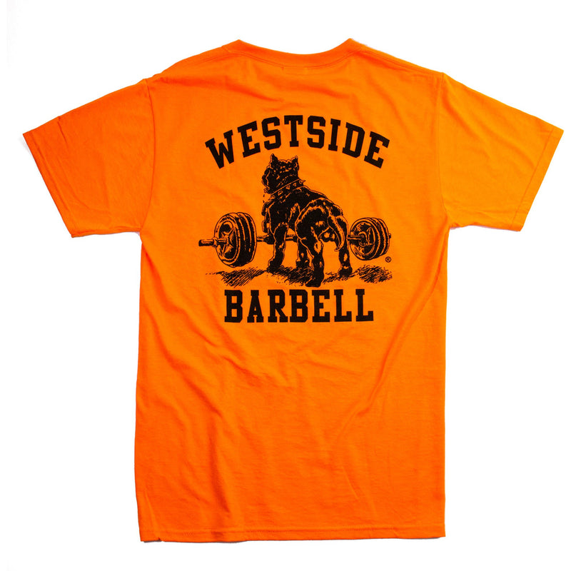 WSBB Mens Safety Orange T-Shirt
