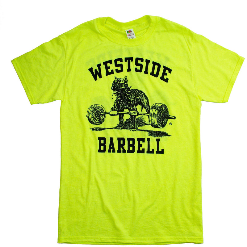 WSBB Mens Safety Green T-Shirt