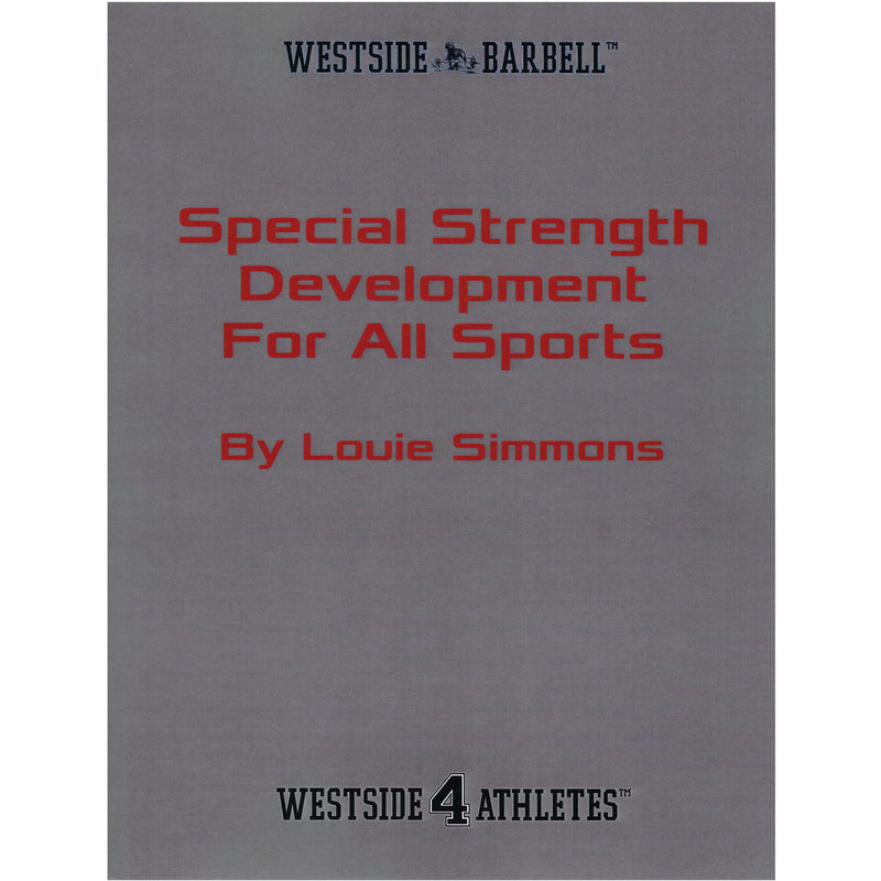 WSBB Books - Special Strength Development For All Sports