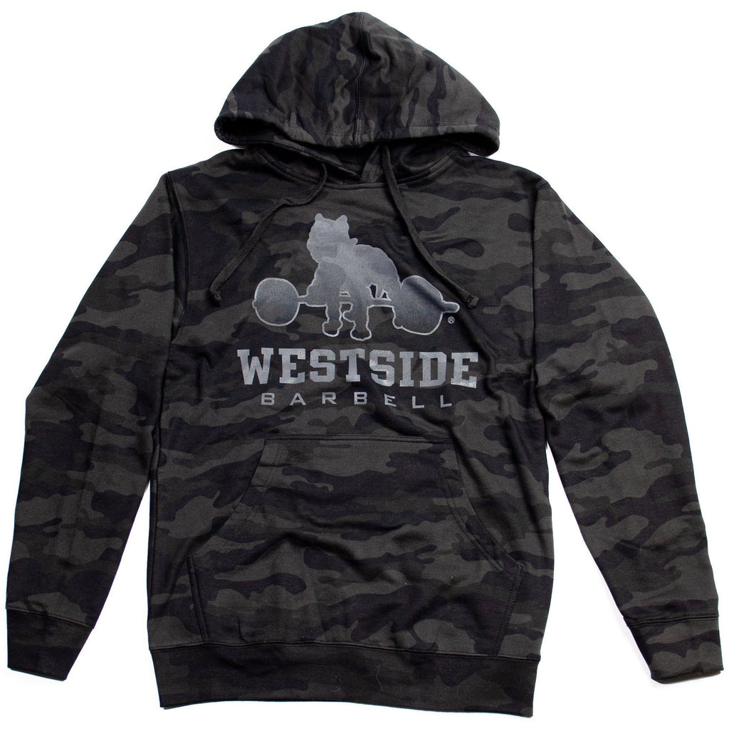 WSBB Mens Midnight Camo Hooded Sweatshirt