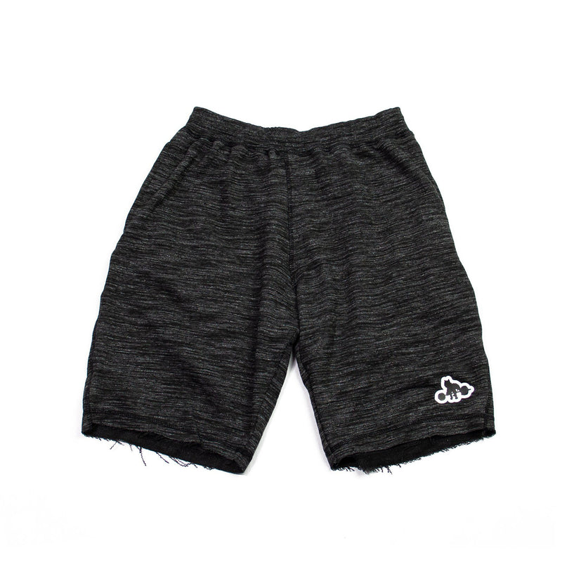 WSBB Mens Heather Black Gym Shorts