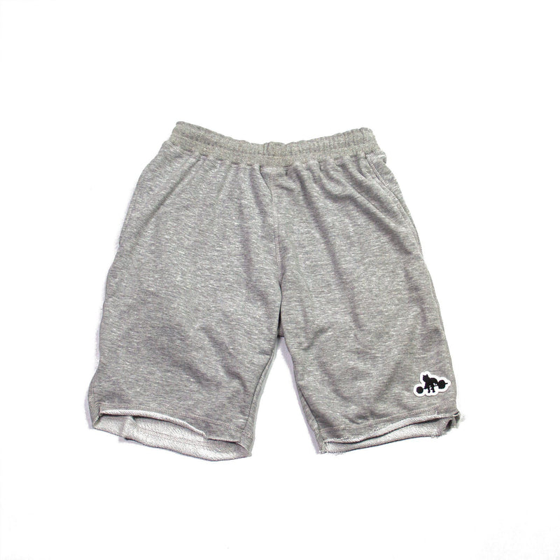 WSBB Mens Heather Grey Gym Shorts