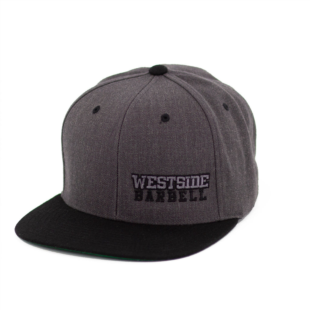 WSBB Classics Flat Bill Snapback Heather/Black