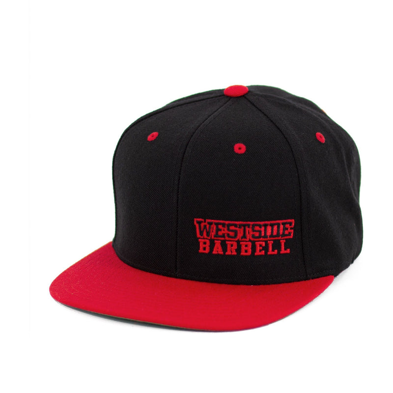 WSBB Classics Flat Bill Snapback Red/Black