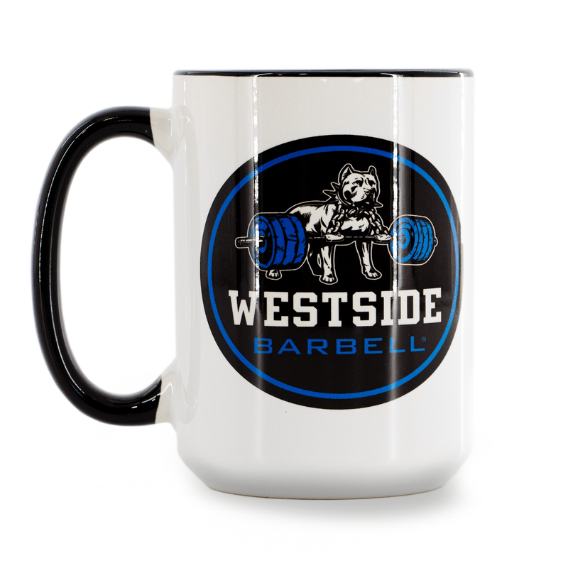 WSBB Coffee Mug - Blue Chaos Logo