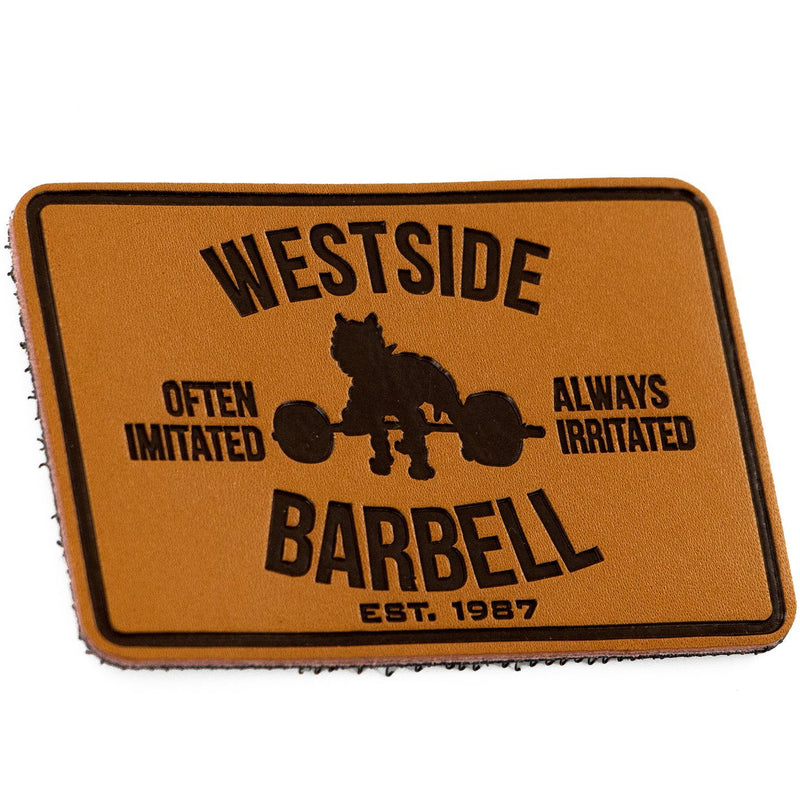 WSBB - Velcro Leather Club Patch